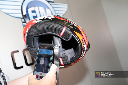 FIM Racing Homologation Programme (FRHP) - New technical control for helmets