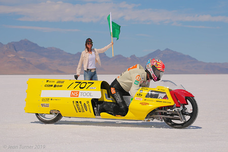 2019 Bonneville Motorcycle Speed Trials, USA - 25-29 August