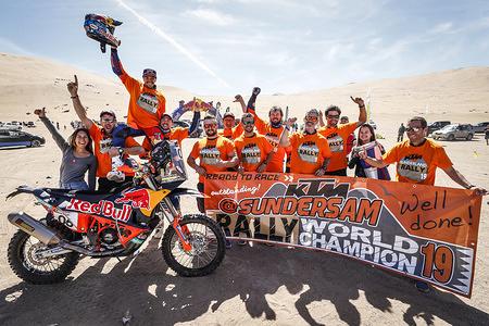 2019 FIM Cross-Country Rallies World Champpionship - Atacam Rally, Chile - 1-7 September