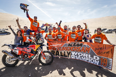 2019 FIM Cross-Country Rallies World Champpionship - Atacam Rally, Chile - 1-7 September