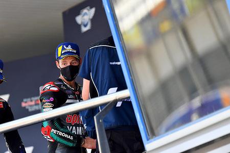 FABIO QUARTARARO FRA  PETRONAS YAMAHA SRT YAMAHA MotoGP   GP Spain 2020 (Circuit Jerez) 17-17.7.2020 photo: Lukasz Swiderek www.photoPSP.com @photopsp_lukasz_swiderek