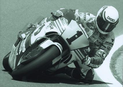 1989 Road Racing GP500 Lawson Eddie USA Honda World Champion