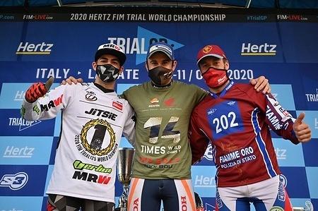 2020 FIM Trial World Championships - Lazzate (ITA), Saturday 10 October 2020